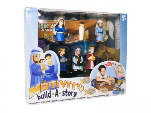 PLAYSET THE NATIVITY BUILD-A-STORY