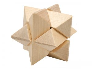 3D STUMBLING BLOCK WOODEN PUZZLE STAR