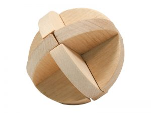 3D STUMBLING BLOCK WOODEN PUZZLE SPHERE