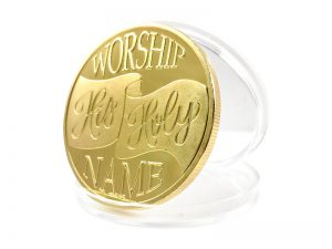 "KEEPSAKE COIN ""BLESS THE LORD"""