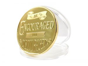 "KEEPSAKE COIN ""BE ENCOURAGED"""