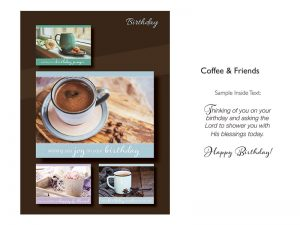 BOXED CARDS BIRTHDAY COFFEE & FRIENDS