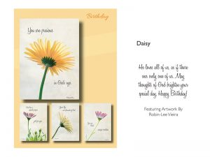 BOXED CARDS BIRTHDAY DAISY