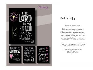 BOXED CARDS BIRTHDAY PSALMS OF JOY