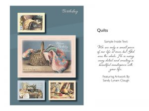 BOXED CARDS BIRTHDAY QUILTS