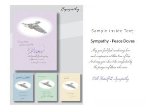 BOXED CARDS SYMPATHY PEACE DOVE