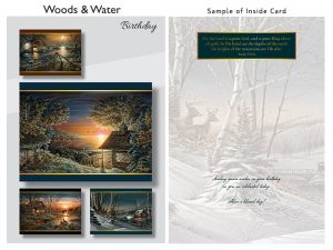 BOXED CARDS BIRTHDAY WOODS & WATER SECOND EDITION