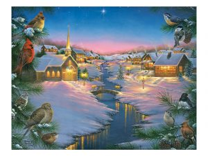 PUZZLE A WINTER'S SILENT NIGHT 1000 PC