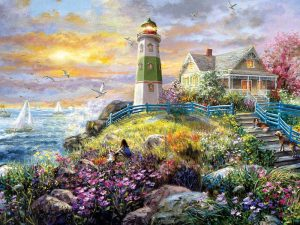 PUZZLE A LIGHTHOUSE MEMORY 1000 PC 27 x 35