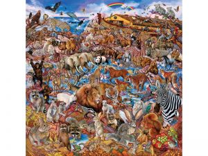 PUZZLE NOAH'S CLEARING 500 PC 19×19
