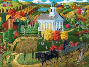 PUZZLE A COUNTRY CHURCH 500PCS
