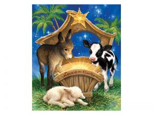 PUZZLE BORN IN A MANGER 200PCS