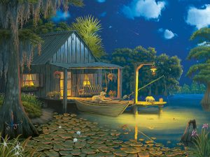 PUZZLE BAYOU MOON 500PC