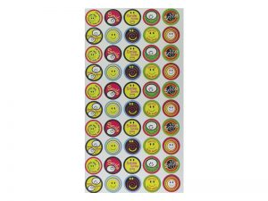 SMILE 50 PER PACK STICKERS PK6