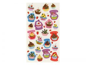 CUPCAKES OF KINDNESS 23PC PAK STICKERS PK6