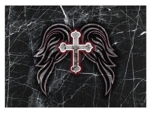 LAPTOP SKIN CROSS & WINGS