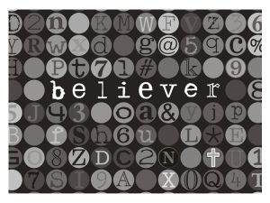 LAPTOP SKIN BELIEVER