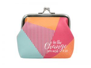 COIN PURSE BE THE CHANGE