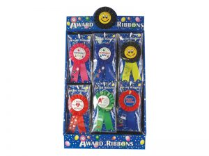 AWARD RIBBON BADGE 48 PC DISPLAY