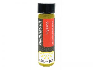 ANOINTING OIL HYSSOP 1/4OZ PK6
