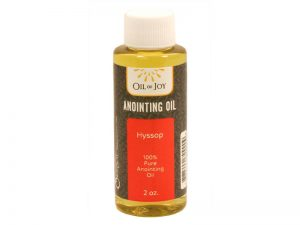 ANOINTING OIL HYSSOP 2OZ