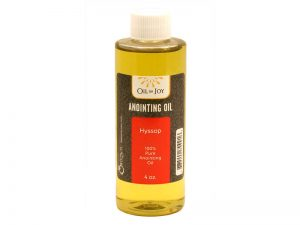 ANOINTING OIL HYSSOP 4OZ ALTAR SIZE