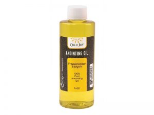 ANOINTING OIL FRANK&MYRRH 4 OZ ALTAR SIZE