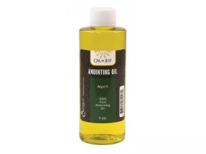 ANOINTING OIL MYRRH 4 OZ ALTAR SIZE