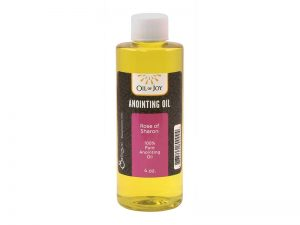 ANOINTING OIL ROSE OF SHARON 4 OZ ALTAR SIZE