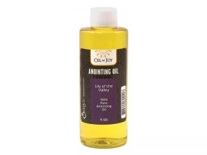 ANOINTING OIL LILY OF VALLEY 4 OZ ALTAR SIZE
