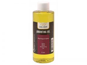 ANOINTING OIL POMEGRANATE 4 OZ ALTAR SIZE