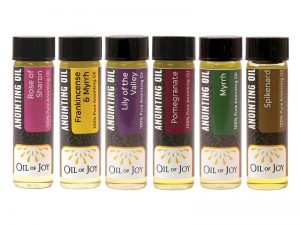 ANOINTING OIL ASSORTMENT 1/4 OZ PK6