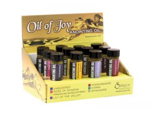 ANOINTING OIL FULL ASSORTMENT PK12