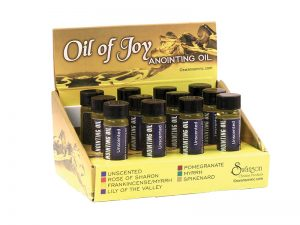 ANOINTING OIL UNSCENTED DISPLAY PK12