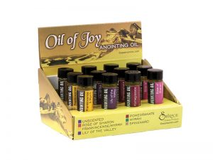 ANOINTING OIL SCENTED ASSORTMENT DISPLAY PK12
