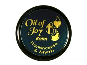 OIL OF JOY ANOINTING BALM FRANKINCENSE & MYRRH 1/3 OZ