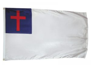 FLAG CHRISTIAN 3ftX5ft