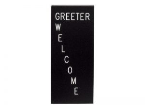 FORM GREETER WELCOME CLIP – PACK OF 3