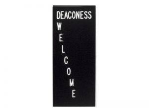 FORM DEACONESS WELCOME CLIP – PACK OF 3