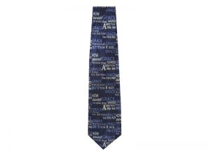 TIE POLYESTER AMAZING GRACE BLUE