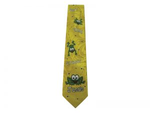 TIE POLYESTER DON'T CROAK WITHOUT JESUS
