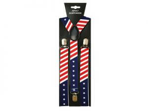 SUSPENDER STARS & STRIPES