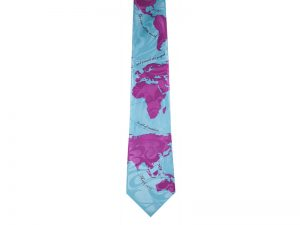 TIE POLYESTER GO INTO ALL THE WORLD
