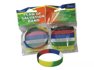 BRACELET SILICONE PLAN OF SALVATION PK24
