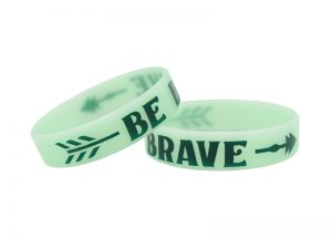 "POWER BAND (1/2″) ""BE BRAVE"" – 12 PK"