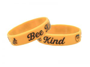 "POWER BAND (1/2″) ""BEE KIND"" – 12 PK"