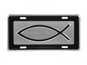 AUTOTAG DELUXE FISH SILVER