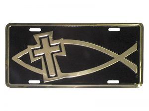 AUTOTAG DELUXE GOLD FISH/CROSS