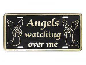 AUTOTAG DELUXE GOLD  ANGELS WATCH ME