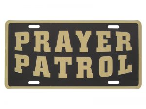 AUTOTAG GOLD PRAYER PATROL